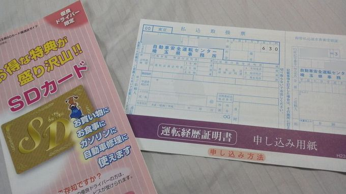 SDカード申し込み用紙