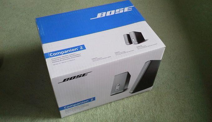 BOSEの箱