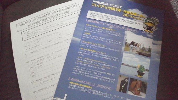 アンケート-越谷ふるさと旅行券