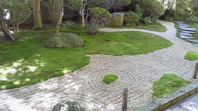 報国寺-枯山水