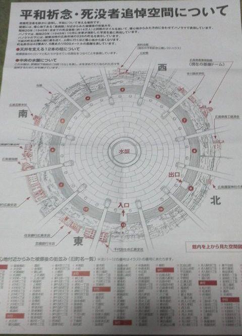 平和祈念・死没者追悼空間のマップ