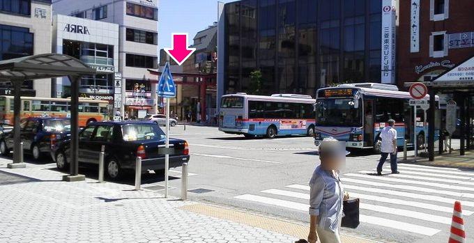 鎌倉駅東口-小町通り