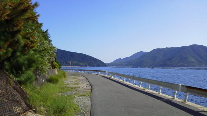 サイクリングロード-江田島