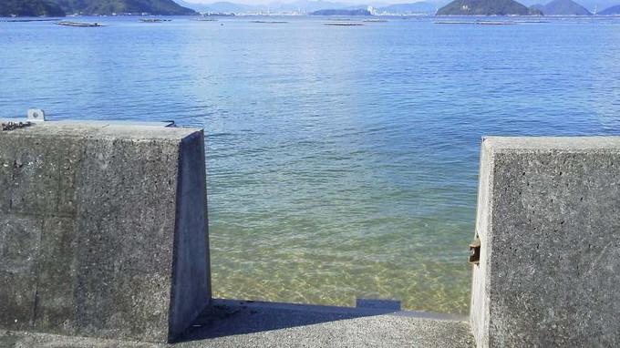 海の透明度-江田島