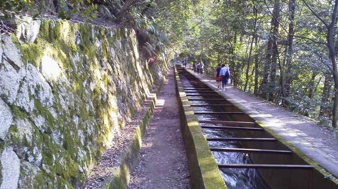 南禅寺水路閣の水路道