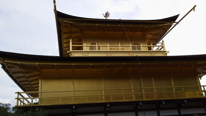 後ろ側-金閣寺