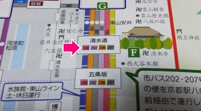 清水寺-京都バス