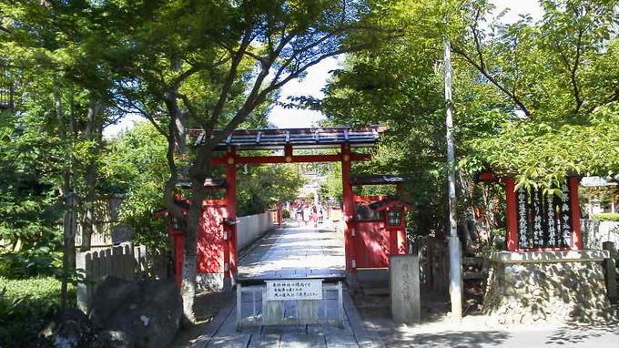 車折神社入口-京都