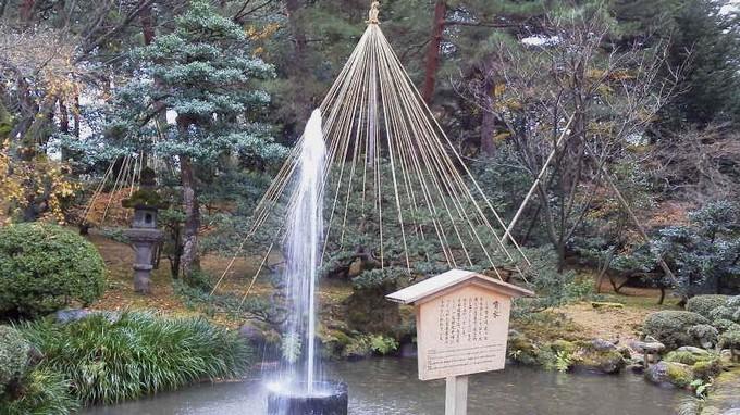 噴水-兼六園