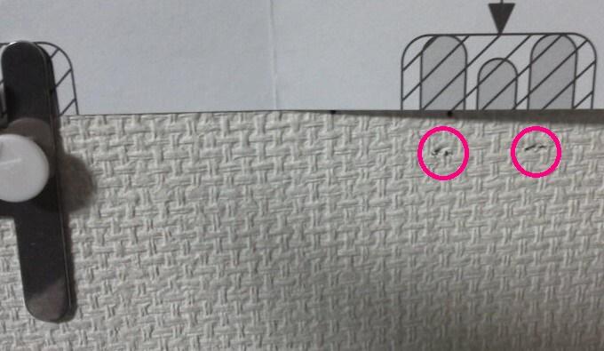 跡-壁に付けられる家具