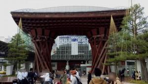 鼓門-金沢駅