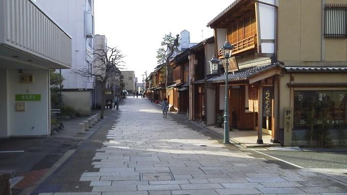 にし茶屋街-金沢