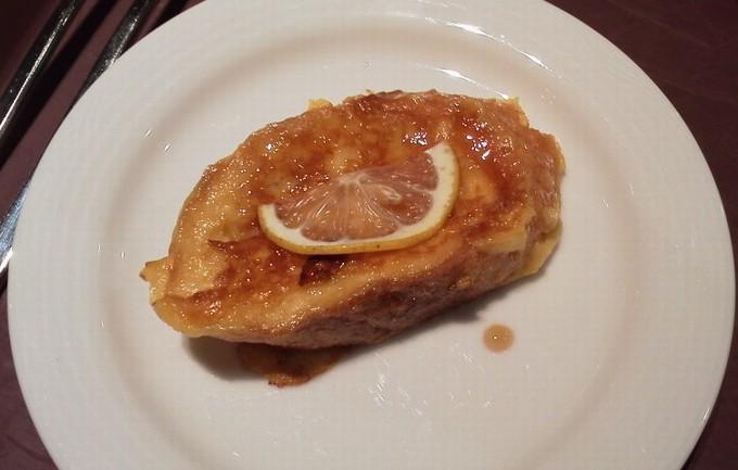 広島レモンのハニートースト-広島ワシントンホテル