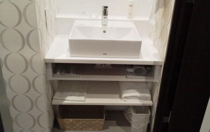 洗面台まわり-広島ワシントンホテル