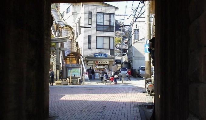 ロープウェイ乗り場-長江口尾道