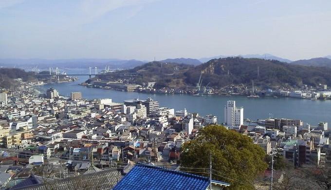 千光寺付近の絶景-尾道