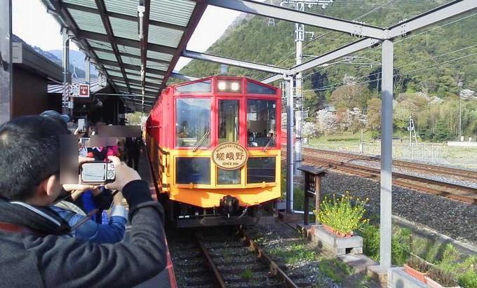嵯峨野観光鉄道-トロッコ京都