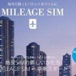 MILEAGE SIM(マイレージシム)のマイルの貯め方!デメリット・注意点は?