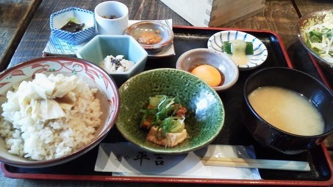 湯葉とろろ飯-葱や平吉