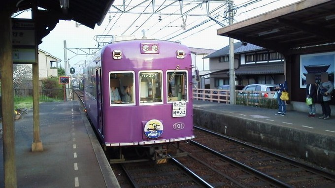 嵐電-京都