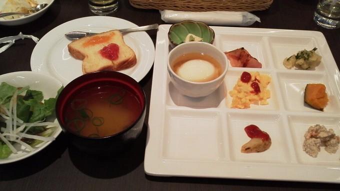 朝食-アーバンホテル二条プレミアム