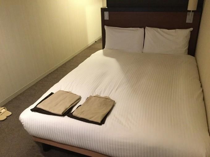 ベッド-三井ガーデンホテル京都四条