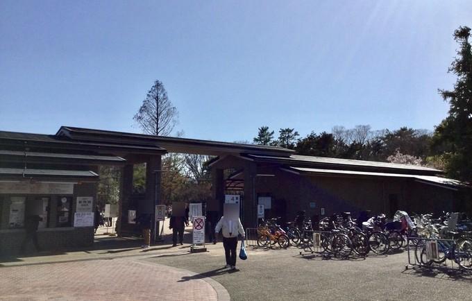北門入り口-京都府立植物園