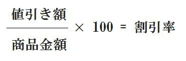 割引率の公式