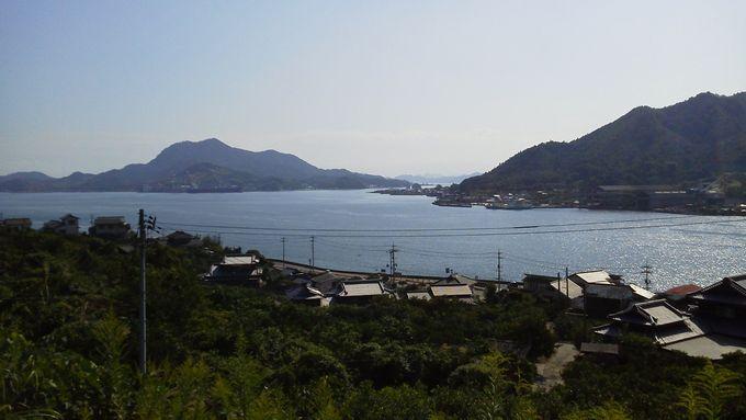 生口大橋からの眺め