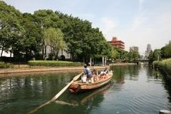 横十間川親水公園の和船