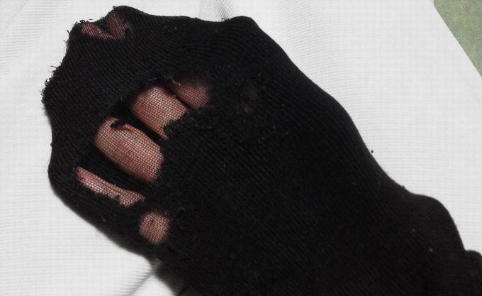 旧ユニクロ靴下