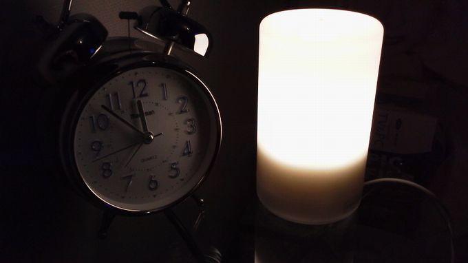 2段階LEDライト