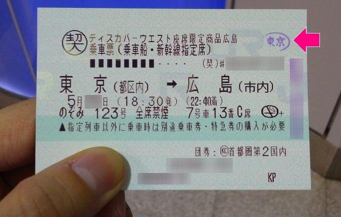 改札外へ-新幹線の乗車券・特急券