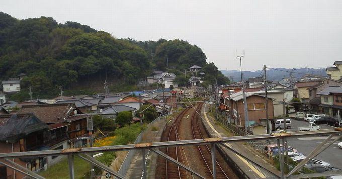 安芸津駅歩道橋