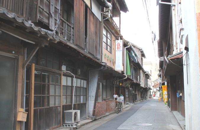 木江の古い町並み-大崎上島