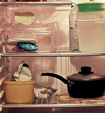 もの少なく-冷凍庫