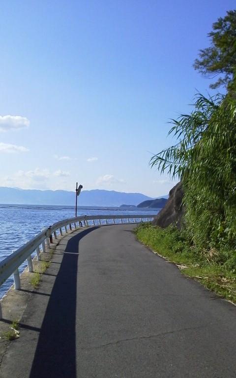 道幅狭い-江田島