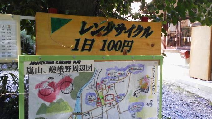 レンタサイクルグリーンフラッグ-京都