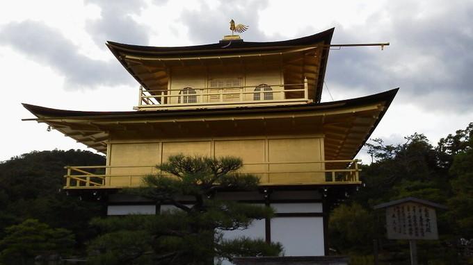 横側-金閣寺