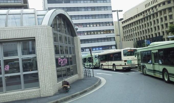 混み具合-京都バス京都駅