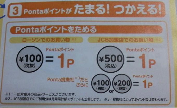 ポイント還元率-おさいふPonta