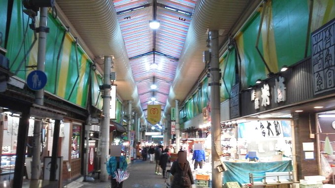 近江町市場-金沢