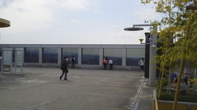 京都駅屋上
