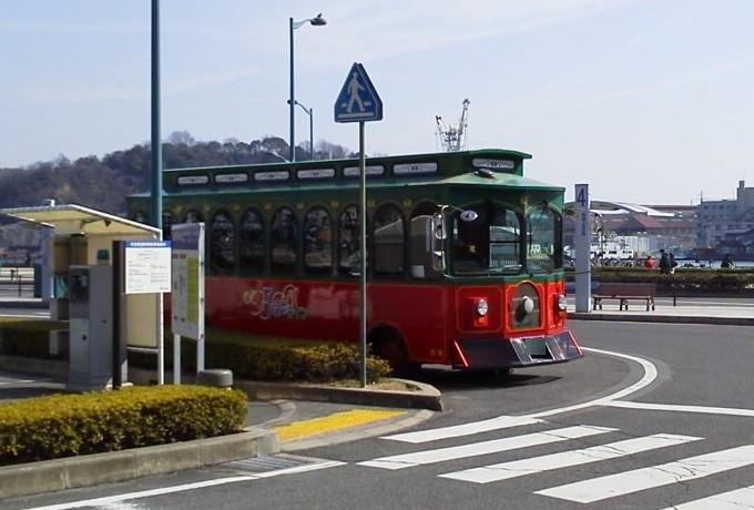 尾道レトロバス-好きっぷラインバス
