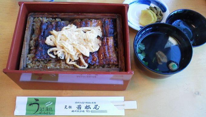鰻のせいろ蒸し若松屋-柳川