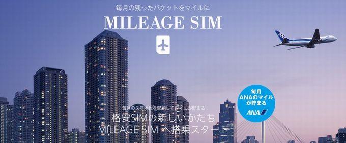 MILEAGE SIM(マイレージシム)
