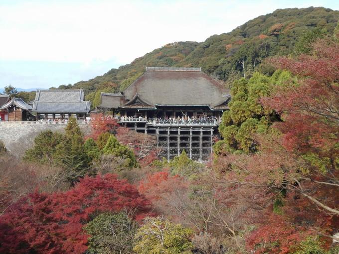 清水寺の紅葉3