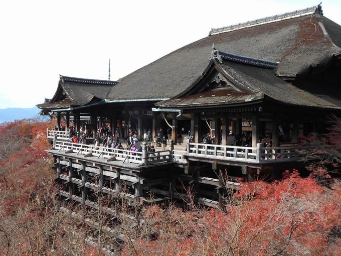 清水寺の紅葉2